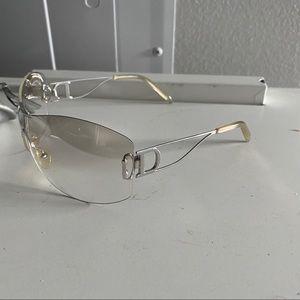 Christian Dior diorella sunglasses vintage y2k